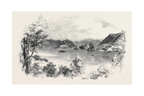 Derwent-Water, from Sir John Woodford's Grounds, the Lake District Giclee Print