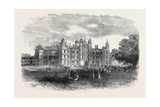 Burghley House Near Stamford the Seat of the Marquis of Exeter 1871 Giclee Print