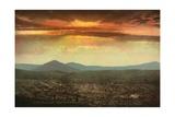 Sunset from Cripple Creek, Colorado, C.1899 Giclee Print