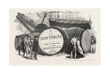 Monster Casks of Sherry in the London Docks, UK, 1851 Giclee Print