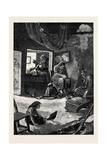 Ireland: a Fisherman's Cabin in Connemara 1880 Giclee Print