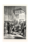 Joan of Arc Recognises Charles Vii. Among His Courtiers Giclee Print