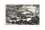 Steamboat Landing, Orillia, Canada, Nineteenth Century Giclee Print