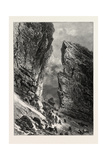 The Breche De Roland, the Pyrenees, France, 19th Century Giclee Print