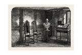 The Room Where Shakespeare Was Born, UK, 19th Century Giclee Print
