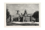 The Eagle-Gate of Brigham Young's School, 1870s Giclee Print