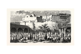 Camp Algiers, Pilgrims Returning from Mecca, 1855 Giclee Print