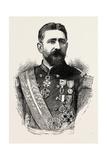 General Boulanger, Born 1837, Died September 30, 1891 Giclee Print