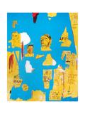 Plastic Sax Giclée-tryk af Jean-Michel Basquiat