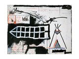 Untitled (Samo, New York) Impression giclée par Jean-Michel Basquiat