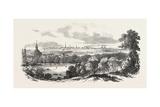 Copenhagen, from Fredericksburg, Denmark, 1851 Giclee Print