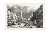 Innsbruck, Tyrol, Austria, 19th Century Giclee Print