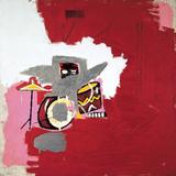 Max Roach Reproduction procédé giclée par Jean-Michel Basquiat