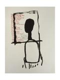 Utan titel Gicléetryck på högkvalitetspapper av Jean-Michel Basquiat
