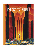 The New Yorker Cover - August 3, 2015 Regular Giclee Print by Mark Ulriksen