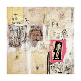 Big Shoes 2 Giclee Print by Jean-Michel Basquiat