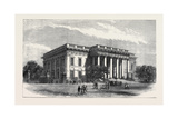 The Courthouse at Calcutta India, 1871 Giclee Print