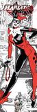 Harley Quinn- Comic Panels Obrazy