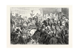 A General Returning in Triumph after Victory Giclee Print