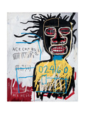 Self-Portrait as a Heel Impression giclée par Jean-Michel Basquiat