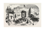 Headquarters of Omer Pasha-Soukoum Kale, 1855 Giclee Print