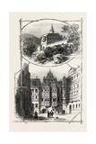 Views in Heidelberg Castle, Germany, 1882 Giclee Print