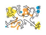 Untitled Pop Art Giclée-Druck von Keith Haring