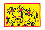 Untitled Pop Art Impression giclée par Keith Haring