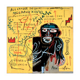 All Coloured Cast (Part Iii) Gicléetryck av Jean-Michel Basquiat