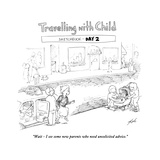 Traveling with Child - Day 2 - Cartoon Premium Giclee Print by Tom Toro