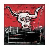 Cabra Reproduction procédé giclée par Jean-Michel Basquiat
