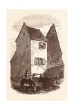 Luther's House, Near Heidelberg, Germany Giclee Print