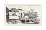 The Marie Gateway, Nuremberg, Germany, 1873 Giclee Print