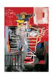 La Hara Reproduction procédé giclée par Jean-Michel Basquiat