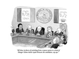 """""""All those in favor of switching from a caucus system to a kind of Hunger ..."""" - Cartoon Premium Giclee Print by Tom Toro"""