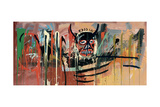 Jean-Michel Basquiat - Untitled (Devil) - Giclee Baskı