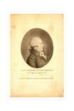 Louis Bernard Guyton-Morveau, Born 1737 Giclee Print