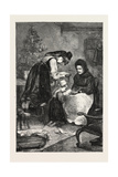 Franco-Prussian War: Prayers for Peace, 1870 Giclee Print
