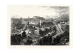 Edinburgh from Calton Hill, Scotland, UK Giclee Print