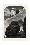 Niagara Falls, Western Side, USA, 1870s Giclee Print