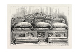 General Gordon's Chinese Throne, 1890 Giclee Print
