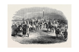 Epsom Races, the Betting Ring Giclee Print