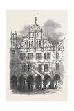 John of Leyden's House Münster Westphalia Giclee Print