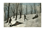 Mont Royal Canada, 19th Century Giclee Print