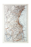 Map of the South of Brazil 1899 Giclee Print