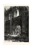 Glastonbury Abbey, UK Giclee Print