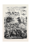Epsom Races, the Road Giclee Print