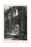 Glastonbury Abbey, UK, 19th Century Giclee Print