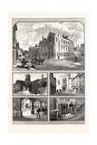 Rugby School Giclee Print