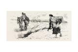 Connemara Market Folk, 1884 Giclee Print